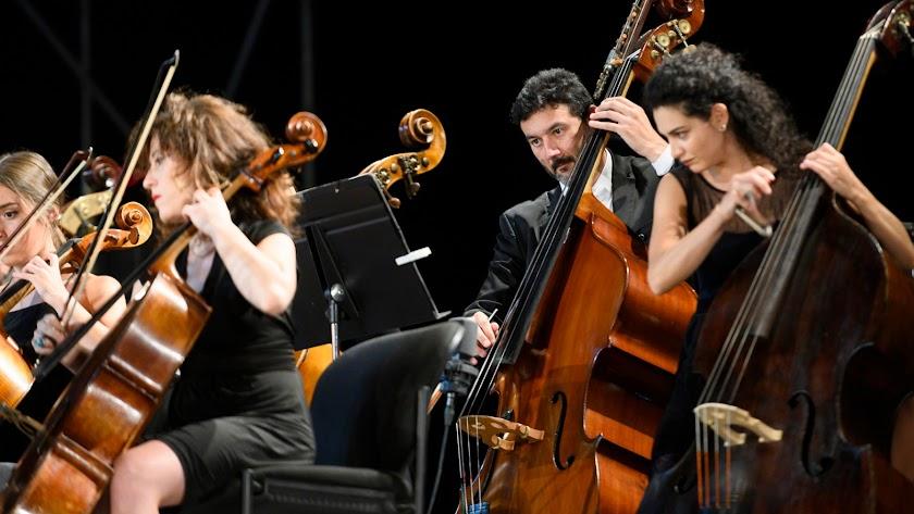 La Orquesta Ciudad de Almería.