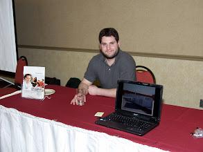 Photo: Career Fair 13:30-16:30 - Seresco table (these guys had good pens!)