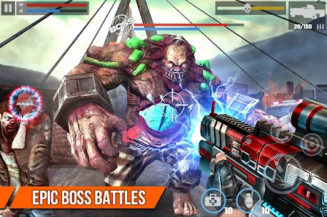 DEAD TARGET Zombie Shooting Money Mod APK 2