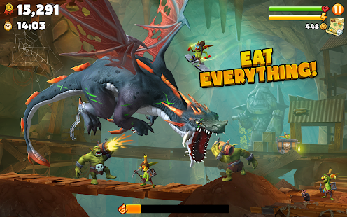Hungry Dragon™ Screenshot