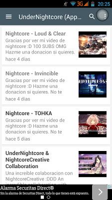 NightcorePlay - screenshot