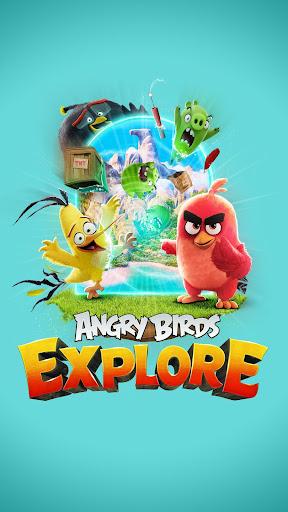 Angry Birds Explore screenshot 1