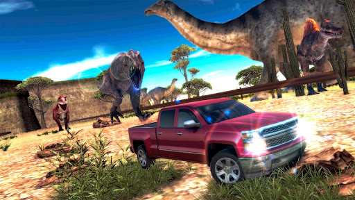 玩賽車遊戲App|侏羅紀逃亡3D:瘋狂駕駛HD免費|APP試玩