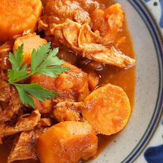 Indian Paleo Stew with Chicken.