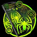 Green Neon Black Spider Theme 🕷️ icon