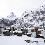 Matterhorn in Zermatt in Zermatt, Valais, Switzerland