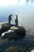 Photo: Antarctica sculpture, Constitution Dock