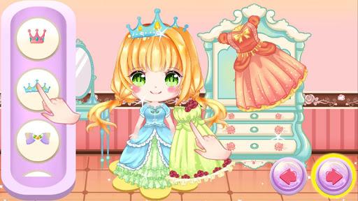 Princess Cherry Anime Care and Makeover: Tea Party 1.0 screenshots 5