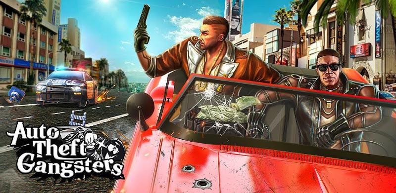 Auto Theft Gangsters – APK MOD HACK – Dinheiro Infinito