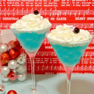 The Big Blue Chill Mocktail.
