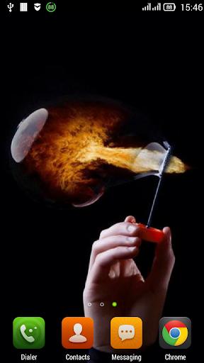 Fiery bubble LWP