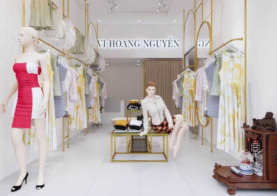 thiết kế shop thời trang nữ bạch mai 2
