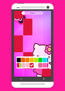 Pink Hello Kitty Piano Tiles apk screenshot