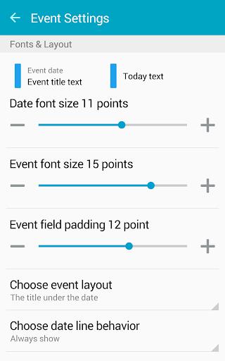 Clean Calendar Widget Pro  screenshots 22