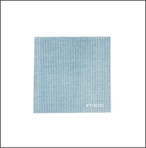 Pappservett Kritstreck Isblå