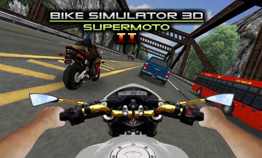 Télécharger Bike Simulator 2 Moto Race Game apk mod screenshots 4