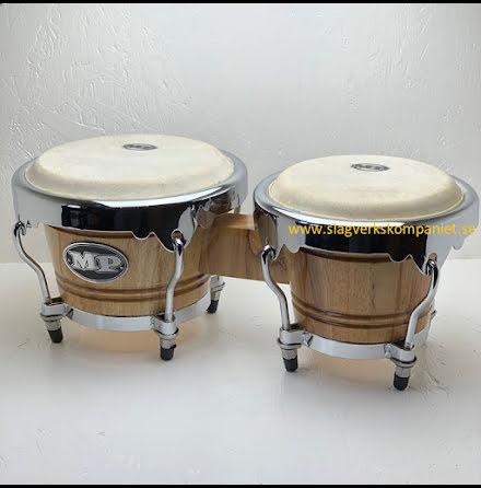 Mano Percussion Bongos - MP1767-NA - Natural Finish