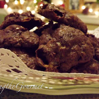 Quick and Easy Brownie Marshmallow Cookies!!!.