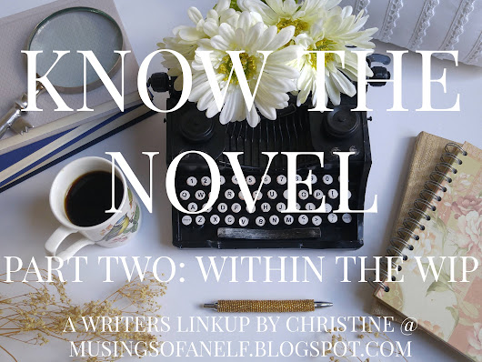 KNOW THE NOVEL - PART TWO // participating in a link-up one day too late