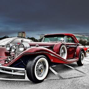 '36 Benz by JEFFREY LORBER - Transportation Automobiles ( rust 'n chrome, vintage car, lorberphoto, old car, caffeine & octane, mercedes benz )