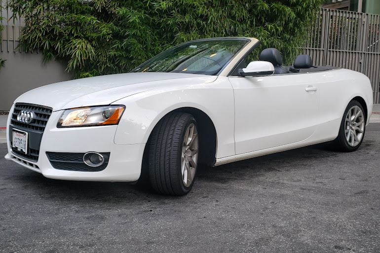 Gorgeous White Audi A5 Convertible What S Not To Love Fly On The Streets With 8 Sd Automatic Transmission Designed Be Smooth And Efficient