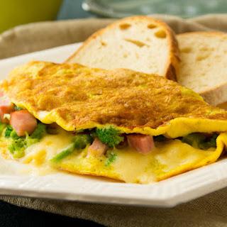 Ham, Broccoli & Alpine Omelet