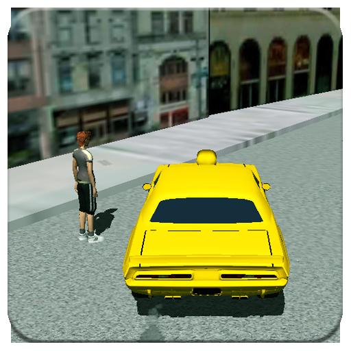 模拟の市の車の運転手の3D LOGO-記事Game