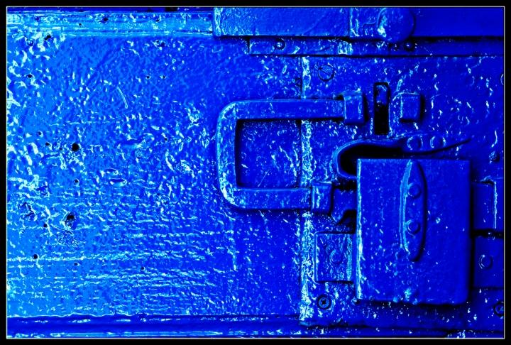 La serratura blu di robi7857