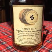Royal Brackla 22yr 1975 Signatory Bottling 58.6%