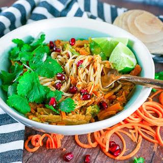 Sweet Potato Thai Noodles.