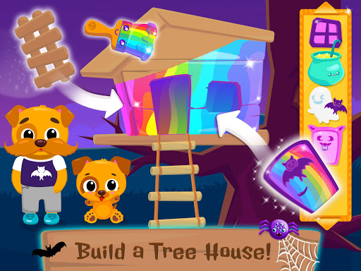 Cute & Tiny Spooky Party - Halloween Game for Kids - screenshot