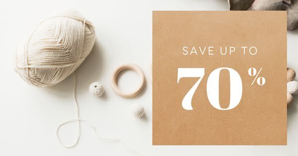 Craft Clearance Sale - Facebook Event Cover Template