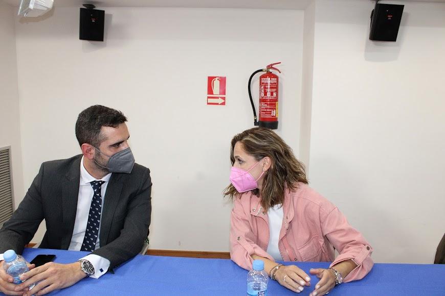 Ramón Fernández-Pacheco y Maribel Sánchez.