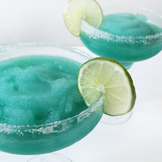 Frozen Blue Margaritas.