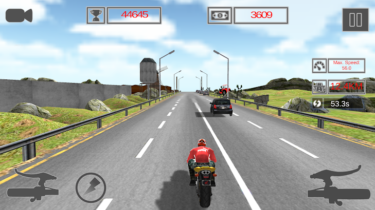 Highway Rider Moto Racer- screenshot thumbnail