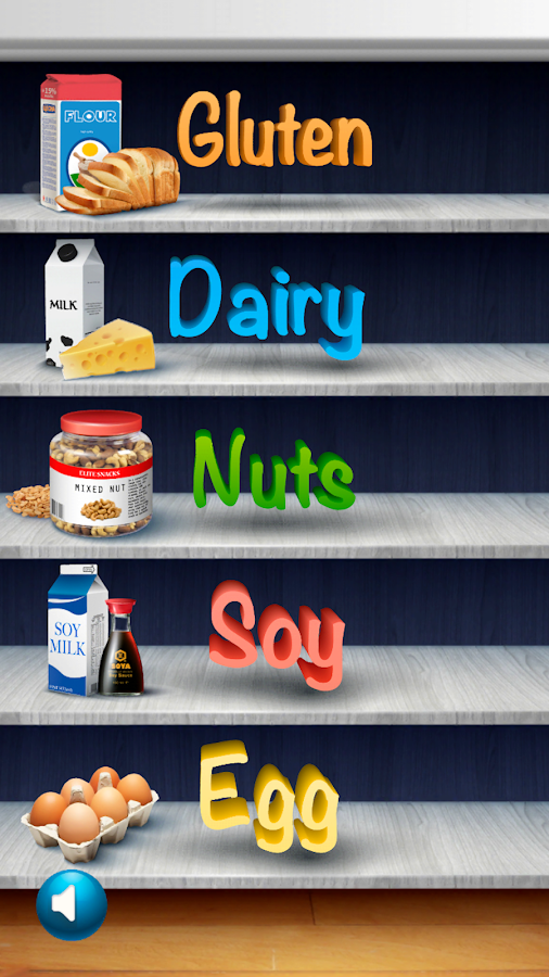 Allergy Reality: Gluten-Dairy-Nuts-Soy-Egg-Free- screenshot