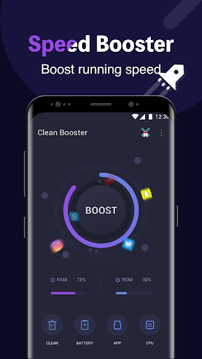 Clean Booster screenshot 2