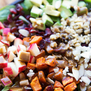 Roasted Sweet Potato and Wild Rice Salad.