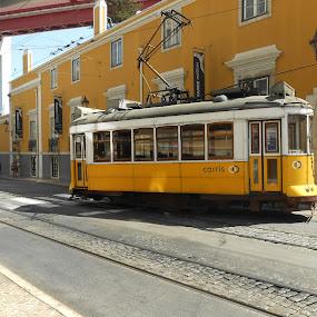 Carris, Lisbon by Joao Sousa - Transportation Trains ( electric, electrico, carris, tram, lisbon )