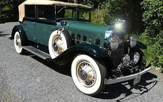 Cadillac LaSalle Convertible Sedan Rent Akershus