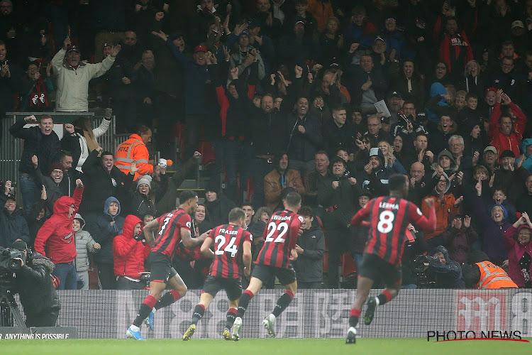 Bournemouth confirme qu'un de ses joueurs est positif au coronavirus