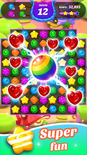 Gummy Candy Blast - Free Match 3 Puzzle Game screenshot 6