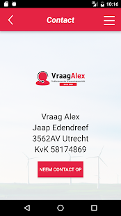 VraagAlex- screenshot thumbnail
