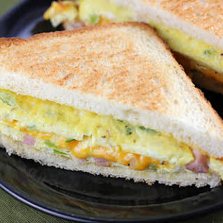Cheese Omelet Sandwich Recipes.