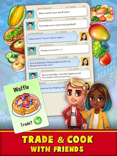 Food Street - Restaurant Management & Food Game  screenshots 4