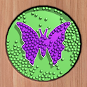 Sorting Beads: Stencil Fill icon