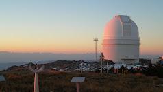 Observatorio de Calar Alto.