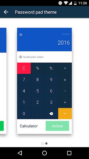 Calculator-Vault's new pin pad screenshot 3