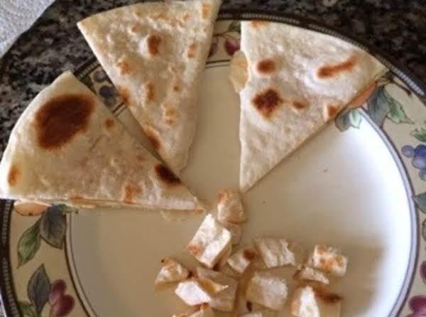 Baby Quesadilla Recipe
