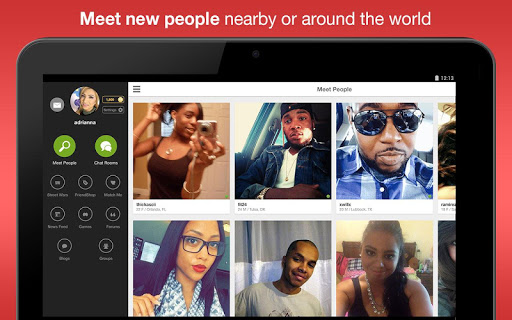Moco - Chat, Meet People app (apk) free download for Android/PC/Windows screenshot